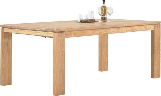 ESSTISCH Wildeiche massiv rechteckig Eichefarben - Eichefarben, Design, Holz (200/100/77cm) - ESCANDO MODERN WO