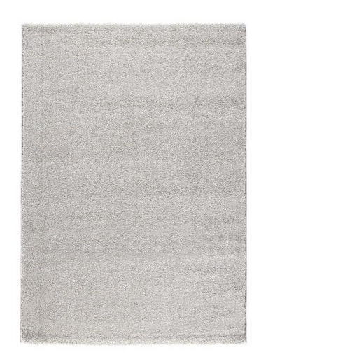 WEBTEPPICH  160/230 cm  Grau, Weiß - Weiß/Grau, Basics, Textil/Weitere Naturmaterialien (160/230cm) - Novel