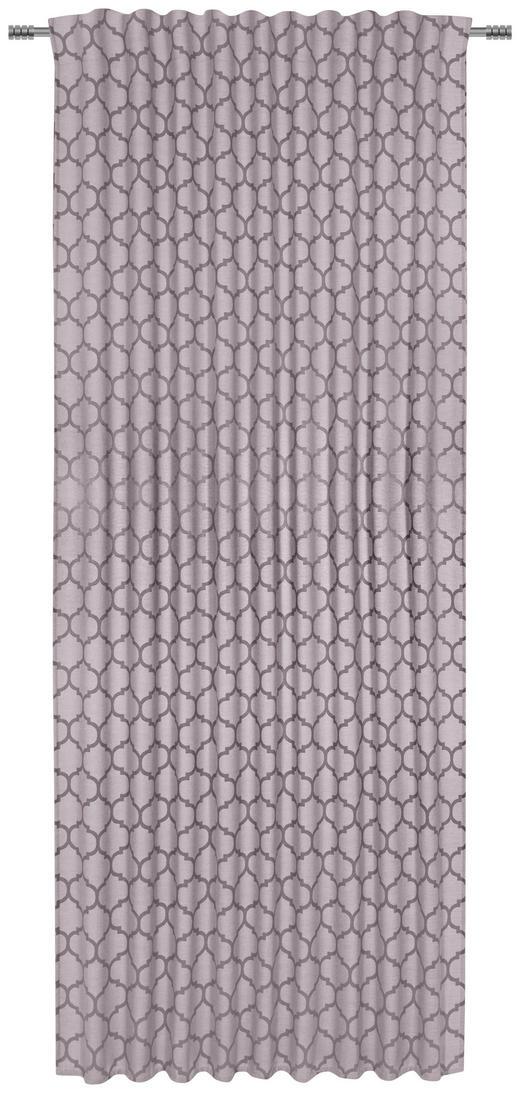 FERTIGVORHANG  halbtransparent  140/245 cm - Braun, Design, Textil (140/245cm) - Esposa