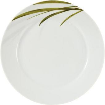 ASSIETT - vit/grön, Basics (19cm) - RITZENHOFF BREKER