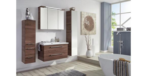 BADEZIMMER - Braun, Design, Keramik/Holzwerkstoff (91cm) - Dieter Knoll
