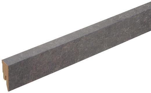 SOCKELLEISTE Anthrazit, Grau - Anthrazit/Grau, Basics, Holzwerkstoff (200/5/1,8cm) - Venda