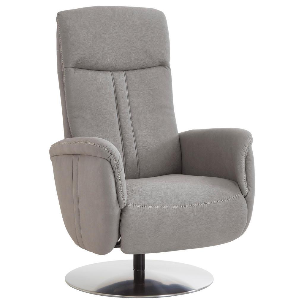 Image of Beldomo Comfort Relaxsessel , Noris-S -Exklusiv- , Alufarben , Textil , Uni , 71x110x83 cm , glänzend, verchromt,Mikrofaser , Fussart wählbar, Stoffauswahl, Relaxfunktion , 000436013501