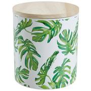 POSUDA ZA ZALIHE - zelena/natur boje, Basics, drvo/keramika (12/13,2cm) - Ambia Home