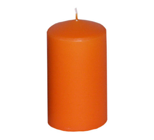 SVÍČKA - oranžová, Basics (5,7/10cm) - Steinhart