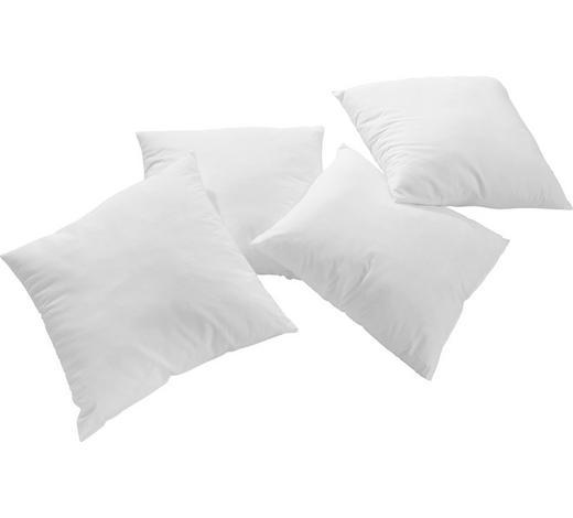 FÜLLKISSEN 40/40 cm - Weiß, Basics (40/40cm) - Sleeptex
