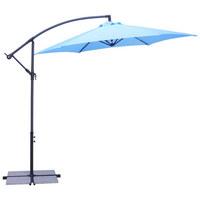 SUNCOBRAN - antracit/svijetlo plava, Konvencionalno, metal/tekstil (300/235cm) - Ambia Garden