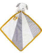ŠÁTEK MAZLÍCÍ - šedá/bílá, Basics, textil (24/24cm) - My Baby Lou