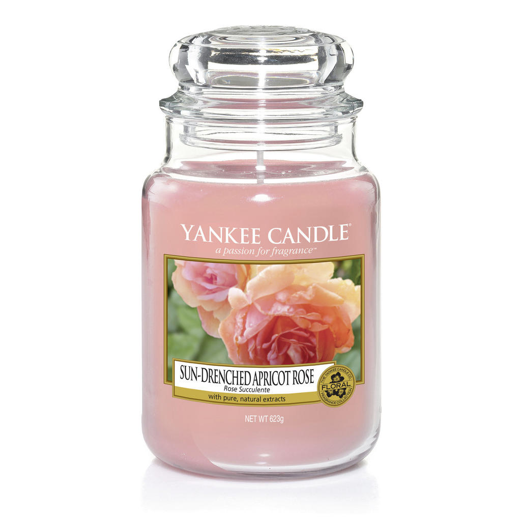 Yankee Candle Duftkerze yankee candle sun-drenched apricot rose