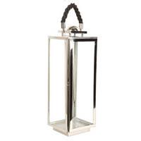 LUCERNA - barvy stříbra, Design, kov/sklo (61cm) - Ambia Home