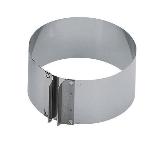 TORTENRING - Silberfarben, Basics, Metall (16,5/7/32cm) - Kaiser