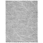 Flachwebeteppich Schwarz/Weiß Eleonore 60x110 cm - Schwarz/Weiß, Basics, Textil (60/110cm) - Luca Bessoni