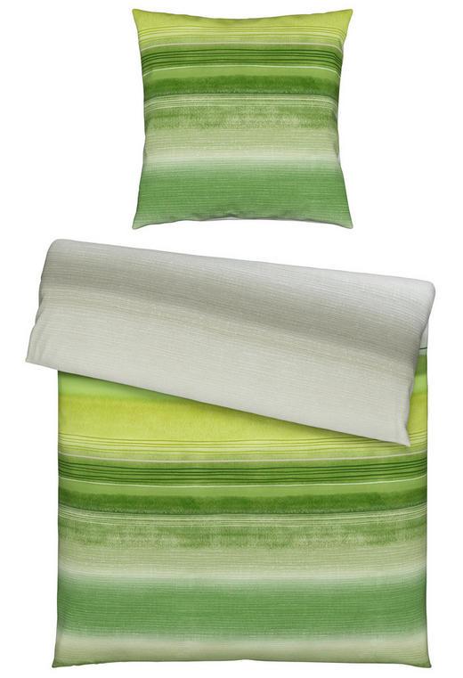 BETTWÄSCHE Single-Jersey Grün 135/200 cm - Grün, KONVENTIONELL, Textil (135/200cm) - Linea Natura