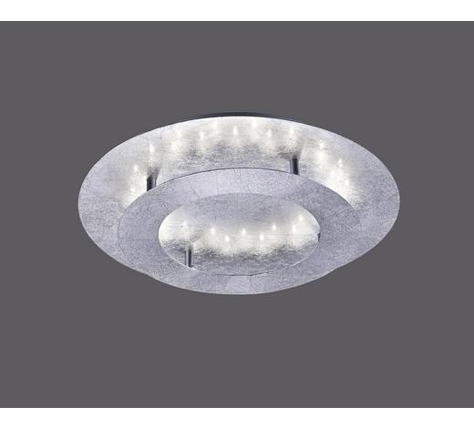 LED-DECKENLEUCHTE   - Silberfarben, Design, Metall (40/40/8cm)