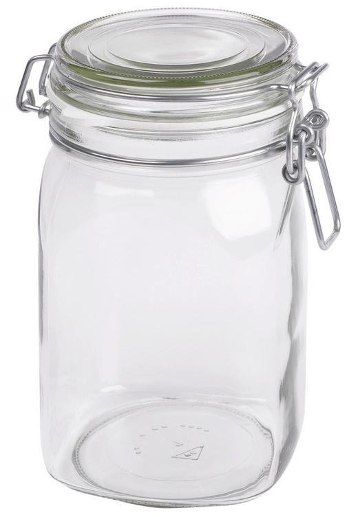 EINMACHGLAS - Klar, Basics, Glas (1,05 l) - Homeware