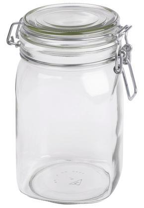 KONSERVERINGSGLAS - klar, Basics, glas (1,05 l)