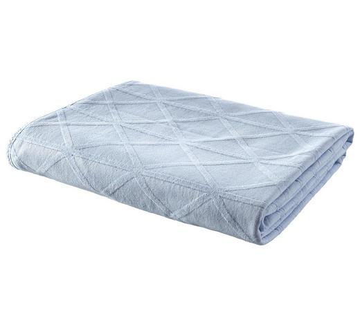 DECKE 140/200 cm Blau  - Blau, Design, Textil (140/200cm) - Ambiente