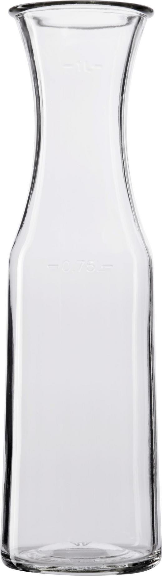 WASSERKARAFFE 1 L - Klar, Basics, Glas (9/31,1cm) - Homeware