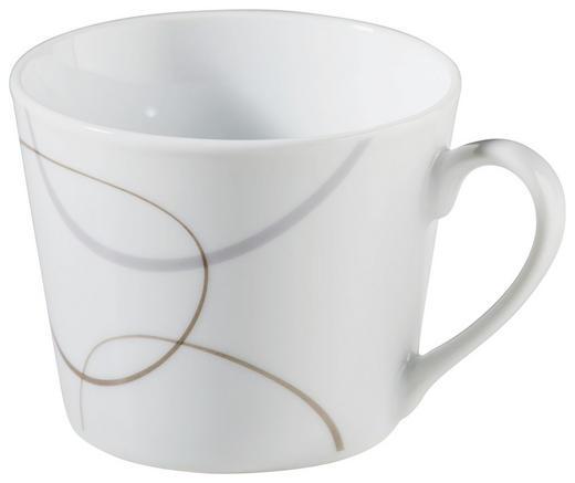 KAFFEETASSE - Braun/Weiß, Basics (8/8/7cm) - RITZENHOFF BREKER