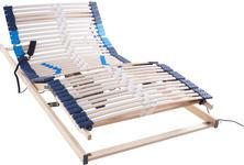 LATTENROST 120/200 cm  - Hellgrau/Weiß, Basics, Holz (120/200cm) - Hom`in