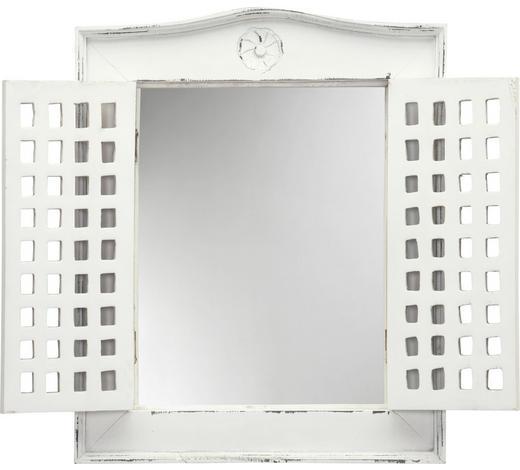 SPIEGEL 50/62/5 cm - Weiß, Trend, Glas/Holz (50/62/5cm) - Ambia Home
