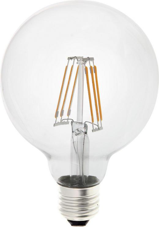 LED-Leuchtmittel E27 - Klar, Basics, Glas (13,8cm) - Homeware