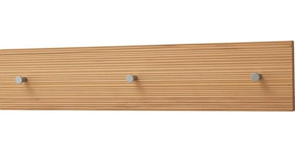 HAKENLEISTE Kernbuche massiv Buchefarben  - Buchefarben, Design, Holz (80/17/2cm) - Dieter Knoll