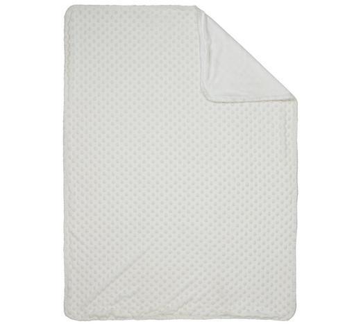 SCHMUSEDECKE - Weiß, Basics, Textil (75/100cm) - My Baby Lou