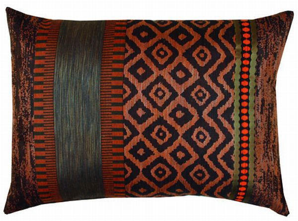 ZIERKISSEN 50/35 cm - Orange, Basics, Textil (50/35cm)