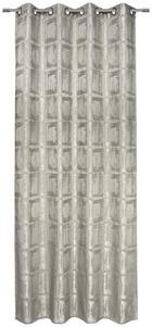 ZÁVĚS HOTOVÝ - šedohnědá, Design, textil (135/245cm) - Esposa