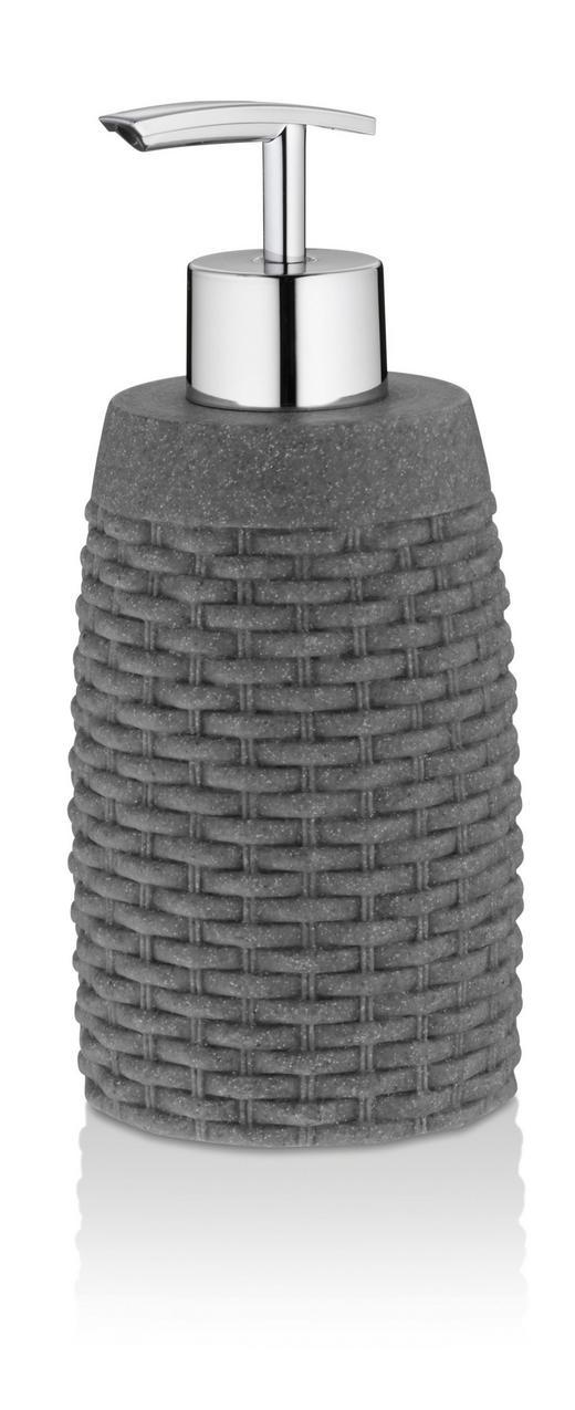 SEIFENSPENDER - Grau, Kunststoff (7/17cm)