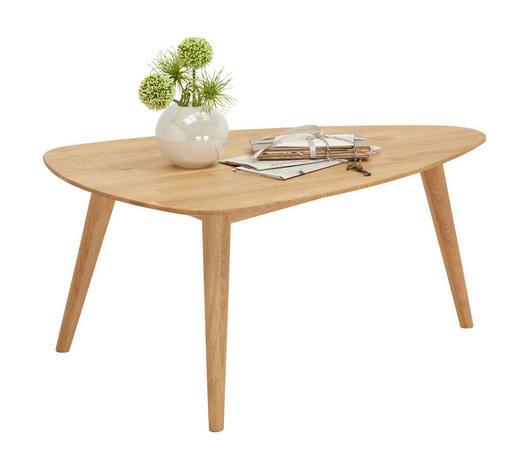 COUCHTISCH in Holz 90/60/41 cm - Eichefarben, Design, Holz (90/60/41cm) - Linea Natura