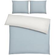 BETTWÄSCHE 200/200 cm - Silberfarben, Basics, Textil (200/200cm) - NOVEL