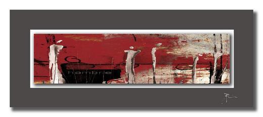 Abstraktes ACRYLGLASBILD - Multicolor, Design, Metall (50/125cm) - Wiedemann