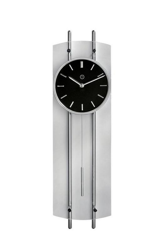 WANDUHR  Schwarz - Schwarz, KONVENTIONELL, Metall (63/18/5,5cm)