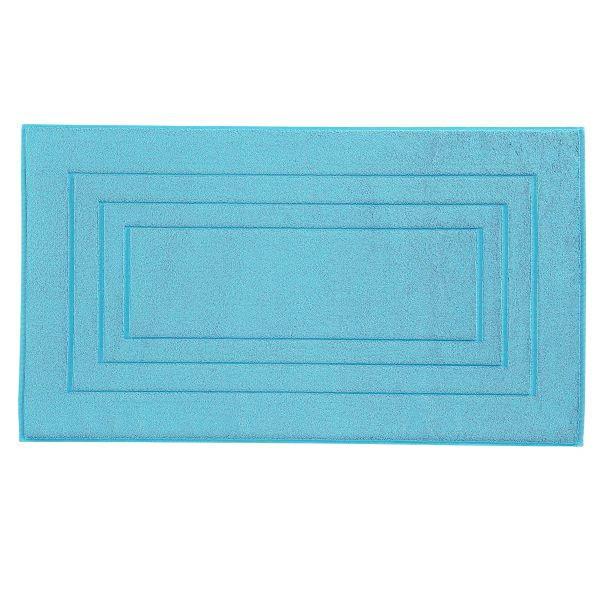 BADEMATTE  Türkis  60/100 cm - Türkis, Basics, Textil (60/100cm) - VOSSEN