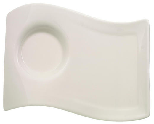 UNTERTASSE - Weiß, Basics, Keramik (13/17cm) - Villeroy & Boch