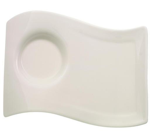 UNTERTASSE  - Weiß, Design, Keramik (13/17cm) - Villeroy & Boch