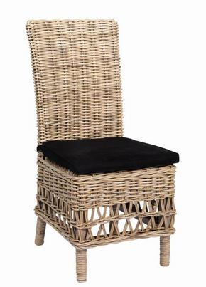 FÅTÖLJ - grå/svart, Lifestyle, trä/textil (45/100/60cm) - Rowico