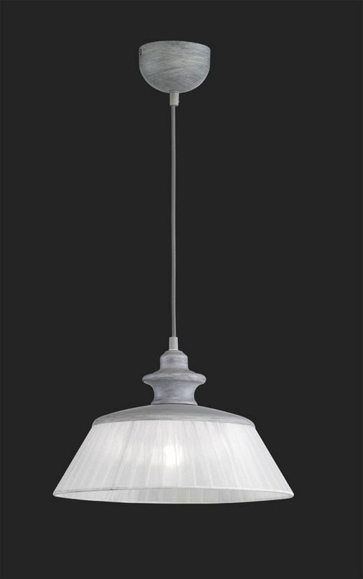 HÄNGELEUCHTE - Weiß/Grau, MODERN, Metall (35/150cm)