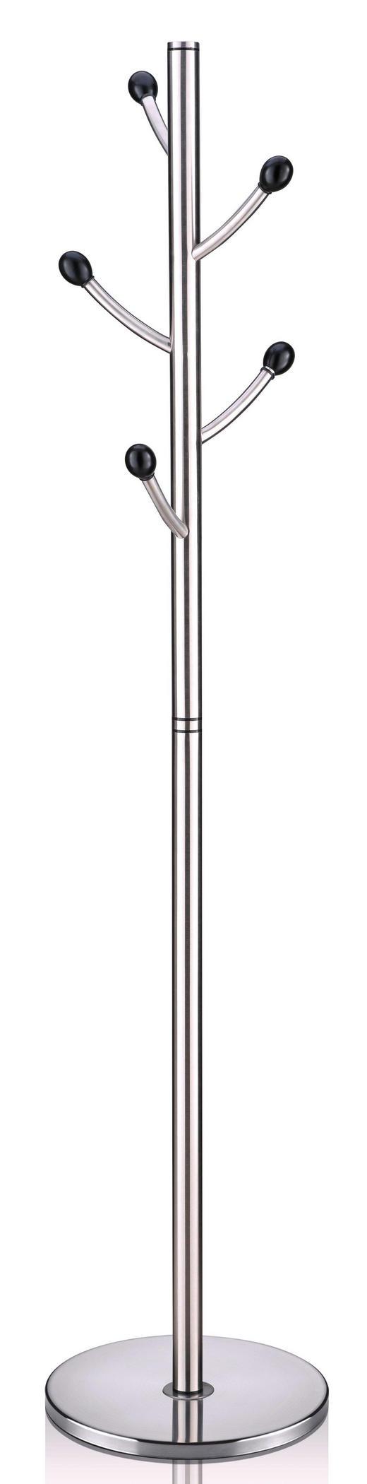 KLEIDERSTÄNDER Edelstahlfarben - Edelstahlfarben, Design, Metall (39/185cm) - Xora