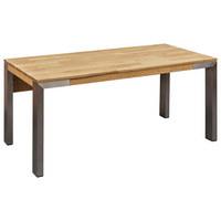 SCHREIBTISCH in Holz, Metall, Holzwerkstoff 160/75/80 cm  - KONVENTIONELL, Holz/Holzwerkstoff (160/75/80cm) - Linea Natura