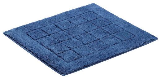 PŘEDLOŽKA KOUPELNOVÁ - tmavě modrá, Basics, textilie/umělá hmota (55/65cm) - Vossen