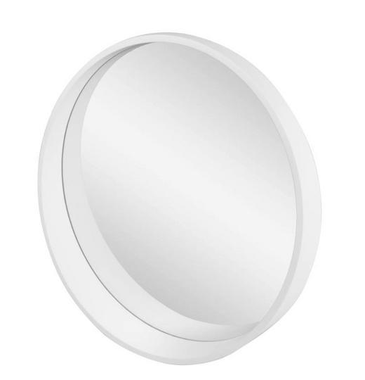 SPIEGEL - Weiß, Basics, Glas/Holzwerkstoff (50/8,5/cm)