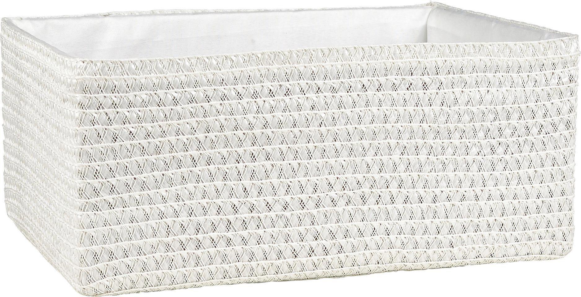 HYLLKORG - vit, Basics, textil/plast (36/26/16cm) - Landscape