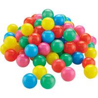 SADA MÍČKŮ - Multicolor, Basics, umělá hmota (5,5cm) - My Baby Lou