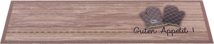 KÜCHENTEPPICH 45/150 cm - Hellbraun/Grau, KONVENTIONELL, Kunststoff (45/150cm) - Esposa