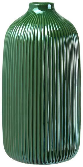 VAS - mörkgrön, Design, keramik (13,3/25cm) - Ambia Home