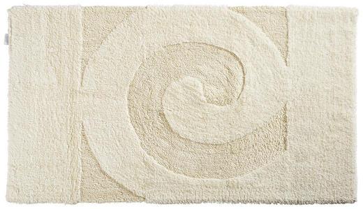 BADTEPPICH  Creme  70/120 cm - Creme, Basics, Kunststoff/Textil (70/120cm) - Ambiente