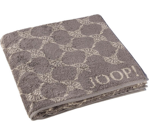 DUSCHTUCH 80/150 cm - Graphitfarben, Design, Textil (80/150cm) - Joop!